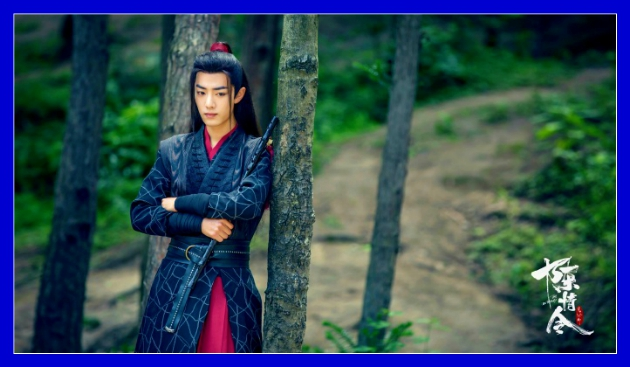 The Untamed - Xiao Zhan as Wei Wuxian