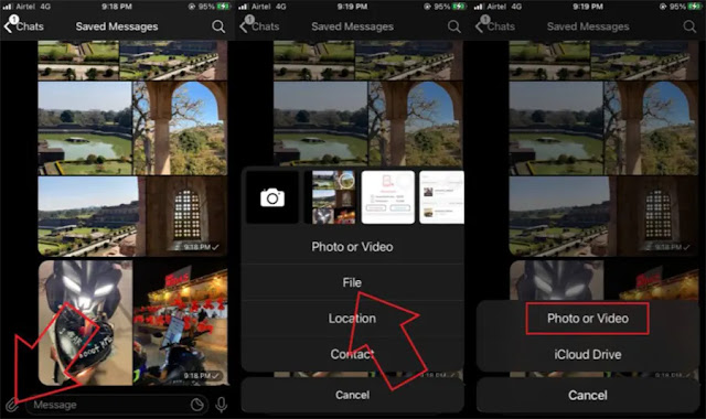 Berbagi Foto dan Video dari Iphone ke Android Menggunakan Telegram-1