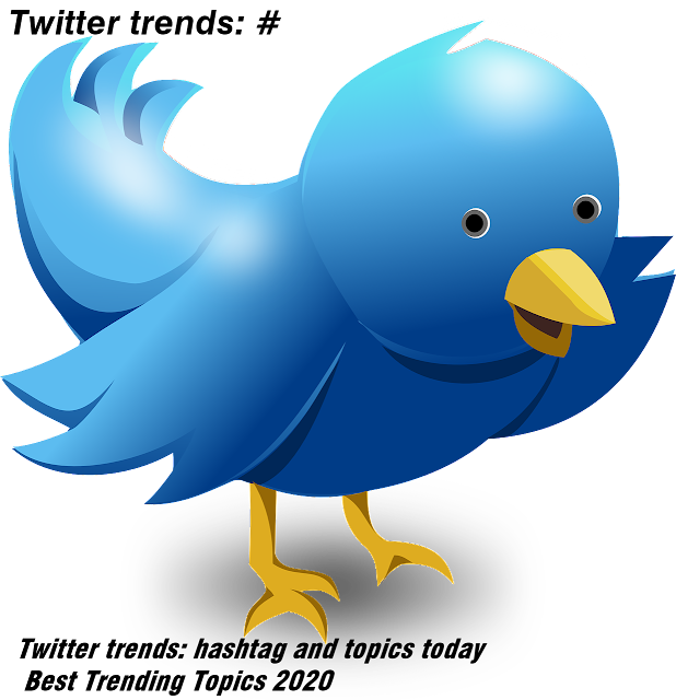 Twitter trends: hashtag and topics today| Best Trending Topics 2020