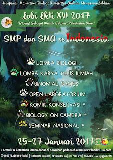 Lomba Biologi dan LKTI XVI 2017