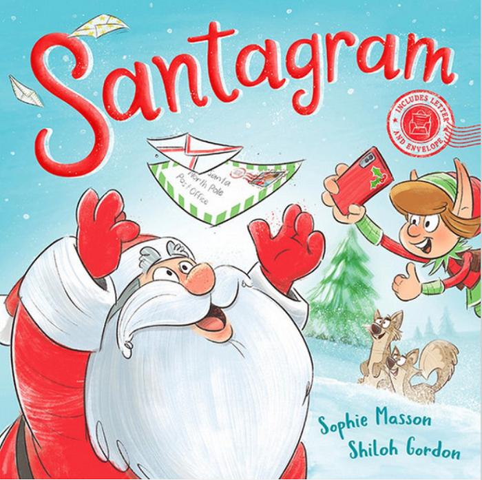 santagram kids book by Sophie Masson