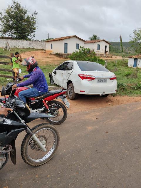Motorista perde o controle e sai da pista na MA-012 entre Poção de Pedras e Esperantinópolis
