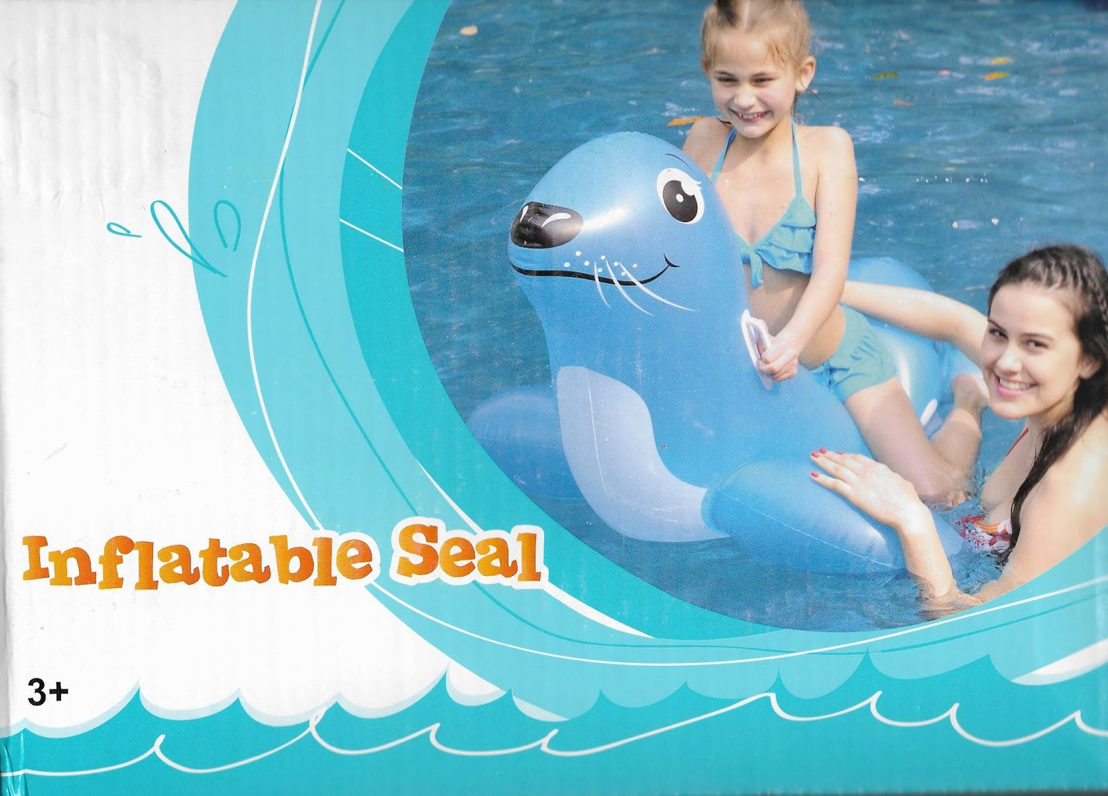 Superieur Australian Woolworths Production Inflatable Seal Animal Ride On Float (AA19)