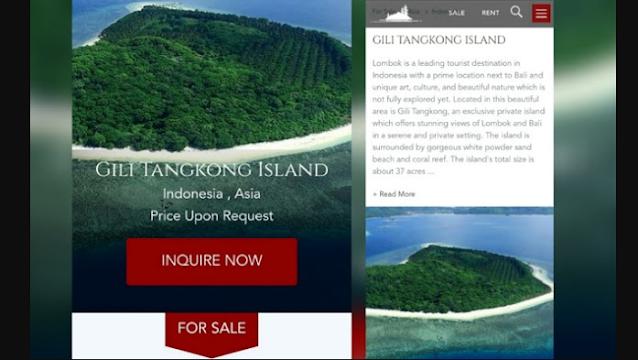 Ramai Pulau di Lombok Dijual di Situs Online