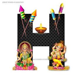 Diwali-H-Alphabet-Images