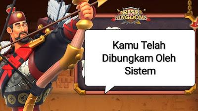 anda telah dibungkam oleh sistem RoK