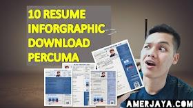 (FREE) 10 Resume Infographic Gempak Dan Stylo 1 Halaman Terkini 2020 (Download Percuma)