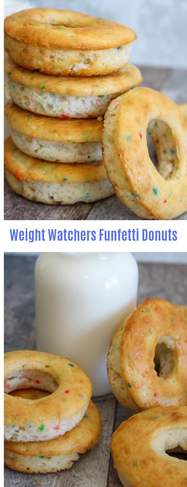 Weight Watchers Funfetti Donuts