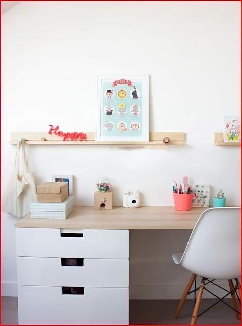susun atur ruang belajar anak di rumah