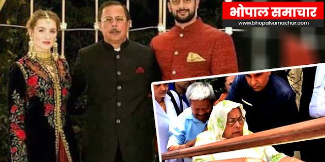 अजय सिंह राहुल की माँ का निधन | MP NEWS