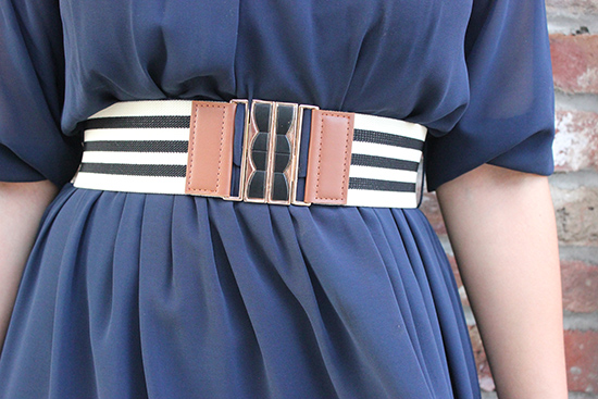 BYER CA Striped Belt