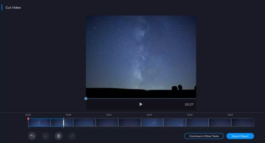 تعديل الفيديو بدون برامج Online Video Cutter