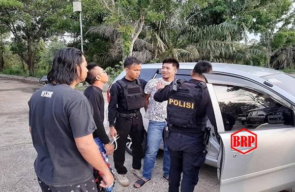 Menjelang Natal, Seorang Budak Sabu Diciduk Polisi di Terminal Induk Kapuas