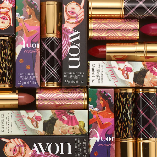 Classic shades housed in gorgeous packaging with vintage Avon prints.