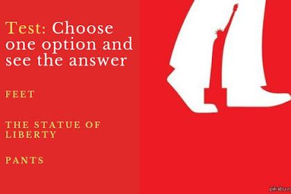 Tes Kepribadian: Gambar Kaki atau Patung Liberty yang Pertama Kamu Lihat?