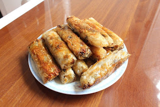 How to make spring rolls fried 1