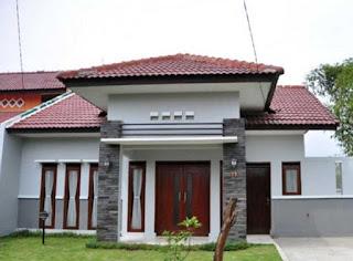 rumah minimalis 4 kamar tidur satu lantai - desain rumah