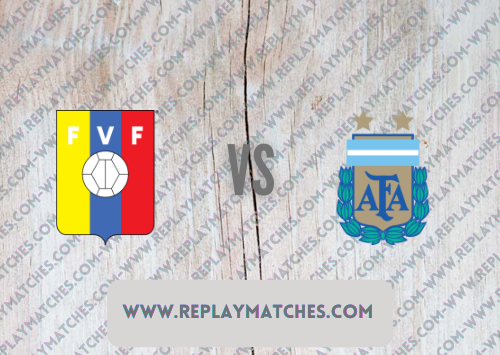 Venezuela vs Argentina -Highlights 03 September 2021