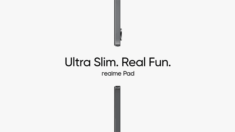 realme Pad with ultra-slim design is coming, to launch on September 9!