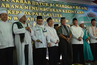 Ishak Mekki Hadiri Haul Akbar Datuk Ki Marogan Ke-115