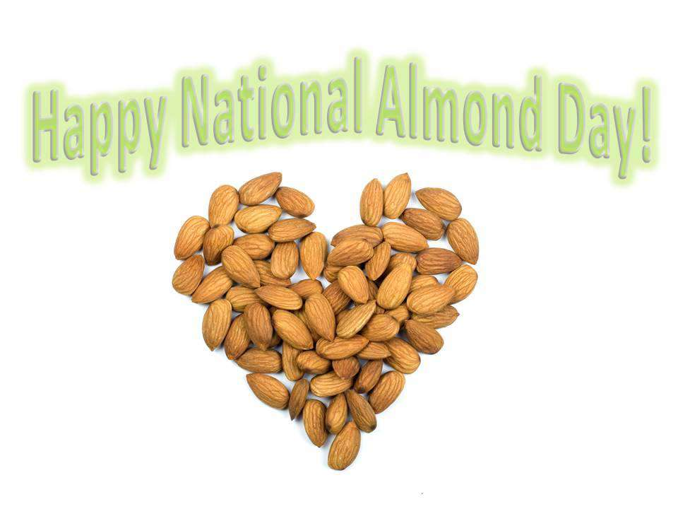 National Almond Day Wishes Unique Image