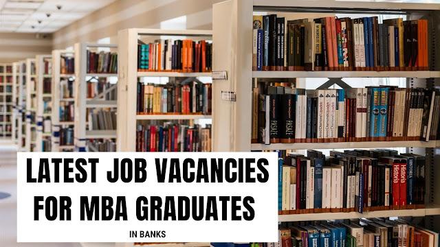 Govt Jobs for MBA Freshers