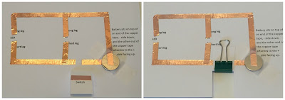Paper Circuits for kids