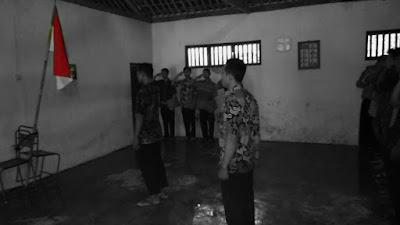 Peringati Sumpah Pemuda, Karang Taruna Desa Girigondo Adakan Upacara