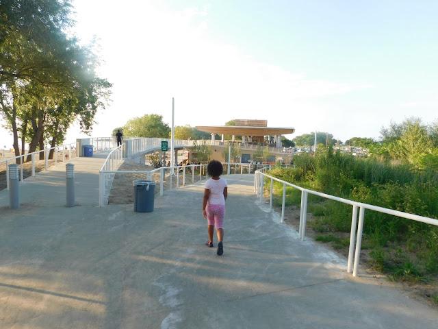 Walkway to Metroparks Edgewater Beach House