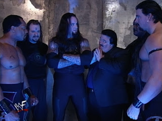 WWE / WWF - Backlash 1999 - The Undertaker addresses his Ministry of Darkess