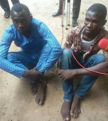 kidnappers arrested minna