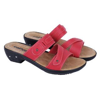 Sandal Wedges Wanita Catenzo LD 090