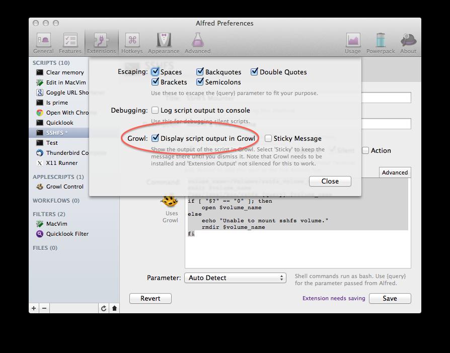 Steve's Blog: Using SSHFS from OSX