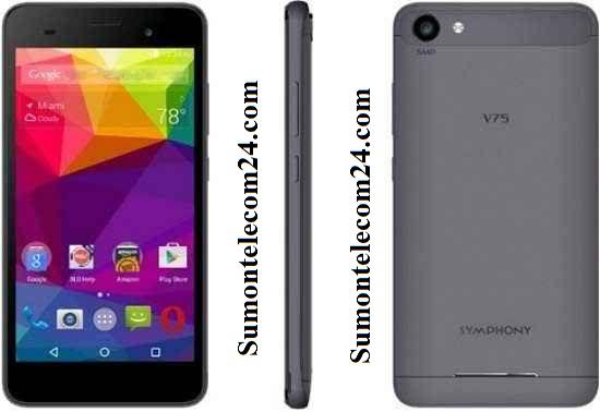 Symphony V75 Flash File MT6580 Stock Rom Download - TECHROMBD COM