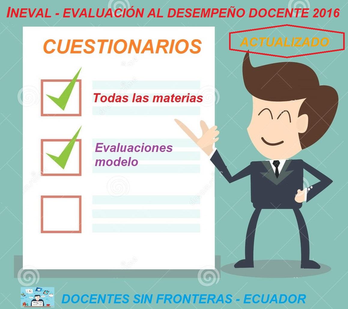 Docentes sin fronteras ecuador cuestionarios de for Plazas de docentes 2016