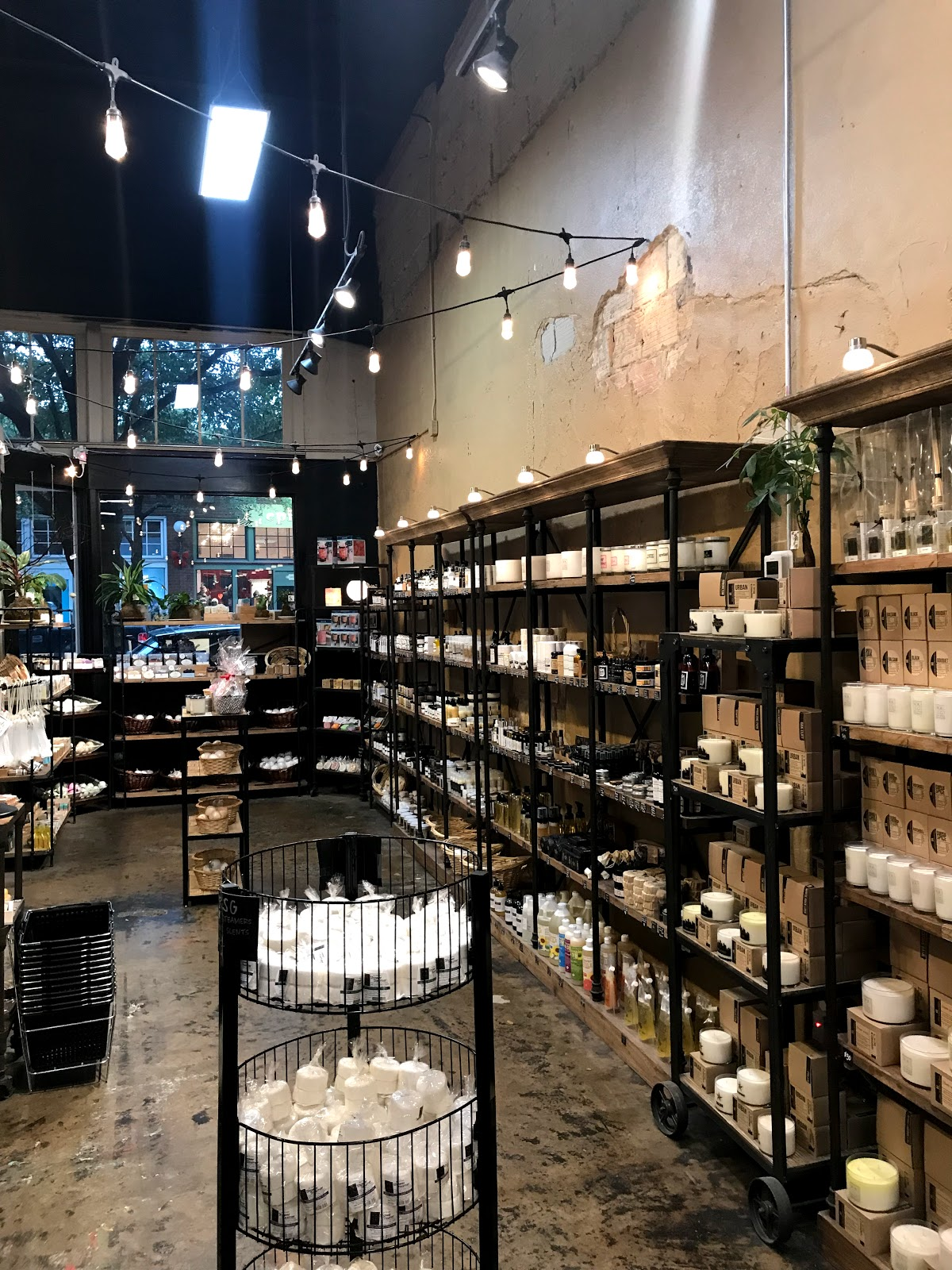 Image: Candle and Room Spray at store in Oak Cliff