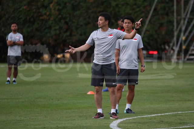 Tatsuma Yoshida is Singapore National Football Team Coach