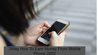 Hello, friends are all welcome to your website today and I will tell you all about this post How to Get Money From Phone Phone 2020. So if you all want to know your mobile phone If you want to earn money online from home or use your smartphone, today you should all read this article carefully. In this article, I will tell you all three ways you can start making money from today.    Many people keep asking me by noting that this brother has told us otherwise that we can make money online through our cellphone. So that's why today I'm going to tell you all three simple ways you can easily give home money. In all of these ways, you all do not need to present, if you want to work here, from today you can earn money by working on them.    How Can You Get Money From The 2020 Phone?   Thinking about how to use your smartphone to make money? Then you're in the right place. Today we give you some ideas on how to make money free using your mobile phone with free apps and other legal means.    Nowadays it's much easier to make money with your phone than in years past. You can get extra money to pay down your debt and have extra money to buy what you need and need. Earning a hundred or thousands a week or month will help you in your daily life using these great ways to do it    Let me ask this if you have a smartphone such as an iPhone or Android phone and want to make some money while you sleep and can't do it without doing something so cool ???    I'm going to show you right now.    This will not make you a crazy amount of money but may allow you to make more money on this side.  Making Money from Mobile is hard work but it's impossible and if you spend your time and money well you can get good value.    To make money with Mobiles there are many ways but for the sake of convenience, I would suggest a very reliable and easy-to-use idea.    The idea is to make money using Youtube and Blogger.    In that case, you need a Smartphone, an internet connection and a Gmail account.   