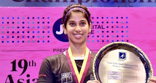 Joshna Chinappa wins National Squash Women's Singles Title