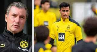 Dortmund sporting director Zorc comments on Reinier's lack of game time