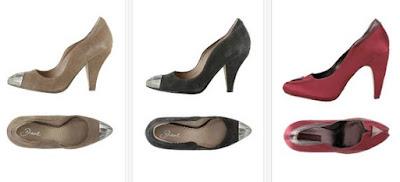 zapatos tacon cuero