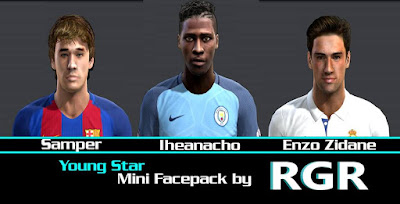 Young star Mini facepack by Rgr DS