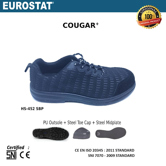 Sepatu Safety Eurostat Cougar