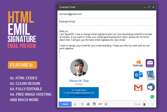 Get the best email signature for your email
