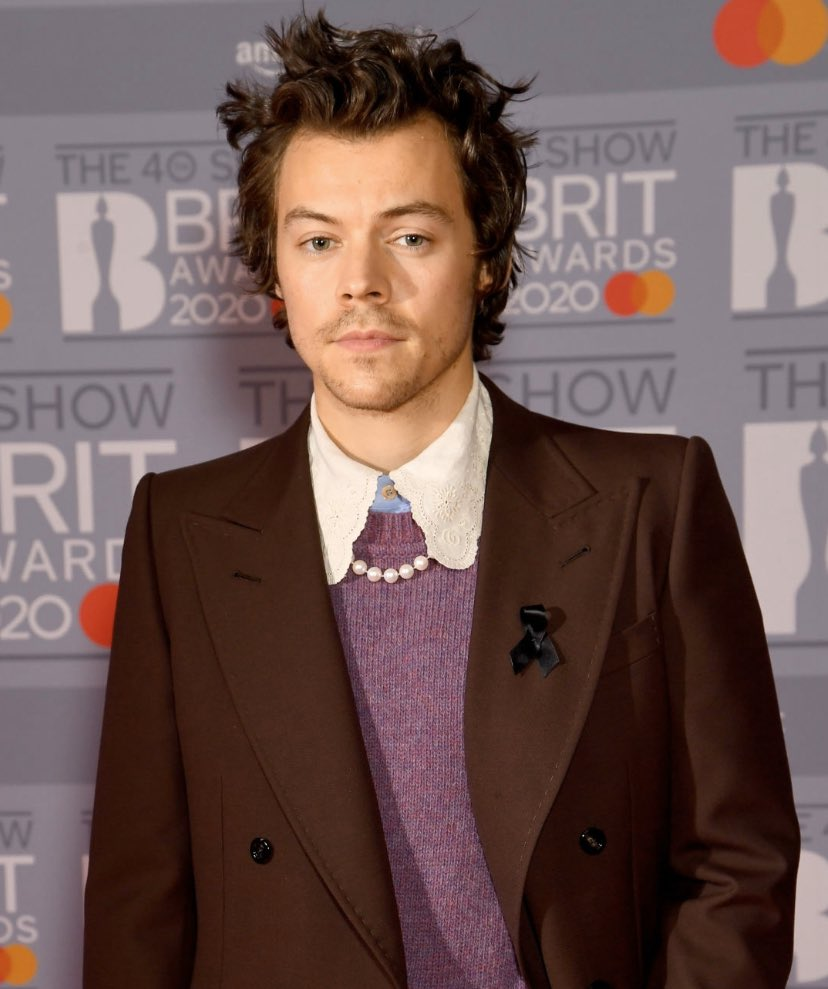 Harry Styles pays tribute to ex Caroline Flack at the 2020 BRIT Awards