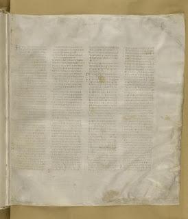 Codex Sinaiticus Gospel of Matthew