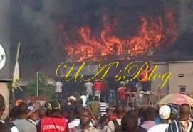 BREAKING: Cultists Set Imo Police Station On Fire, Cart Away Arms