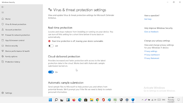 How to disable Windows Defender Permanently in Windows 11