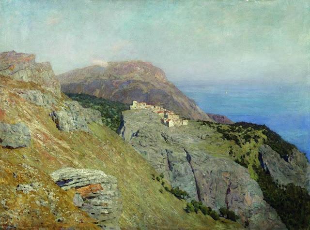 Исаак Ильич Левитан - Корниш. Юг Франции. 1895