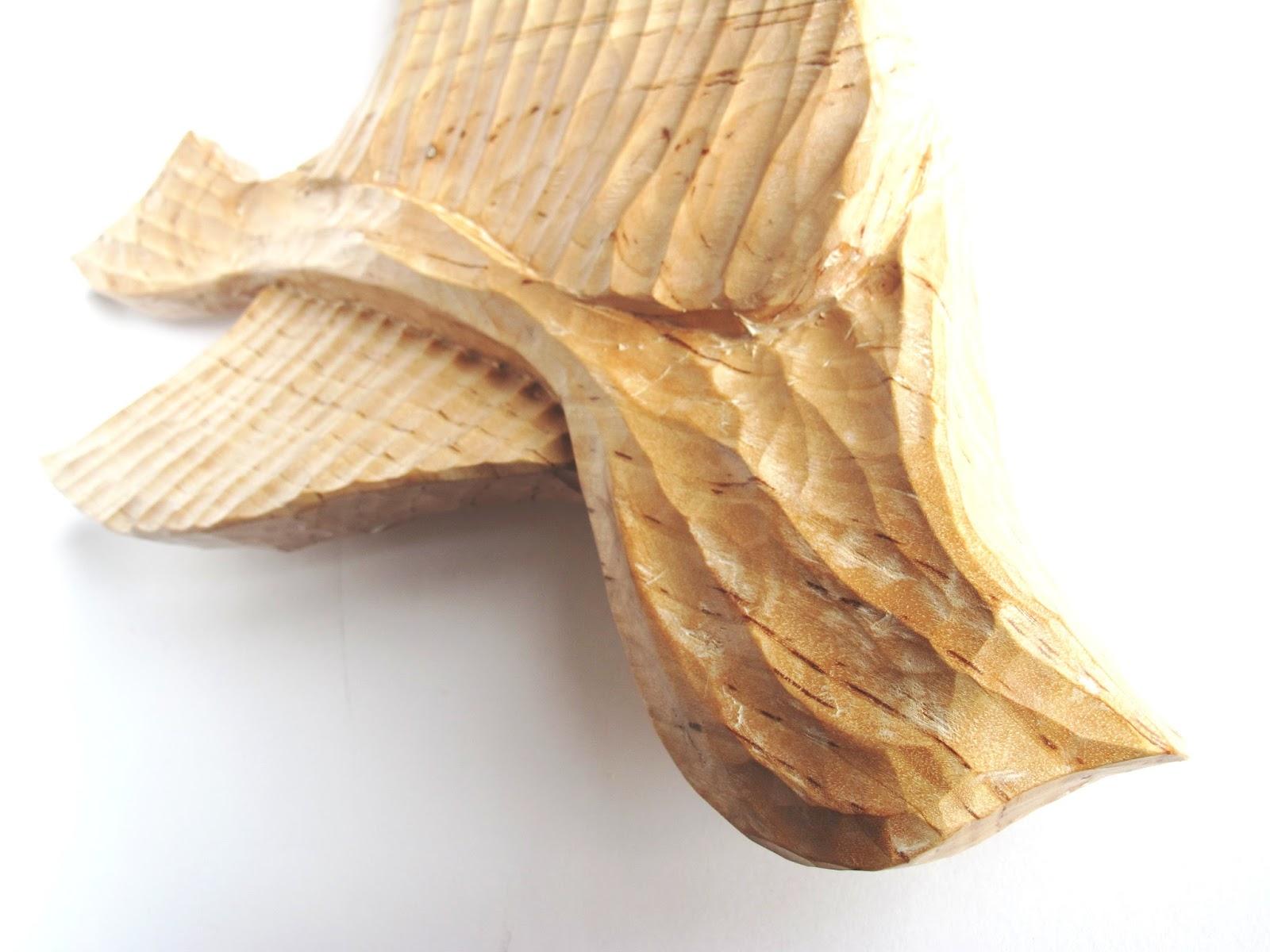 Paloma tallada ilex talla taller de talla de madera - Madera de abedul ...